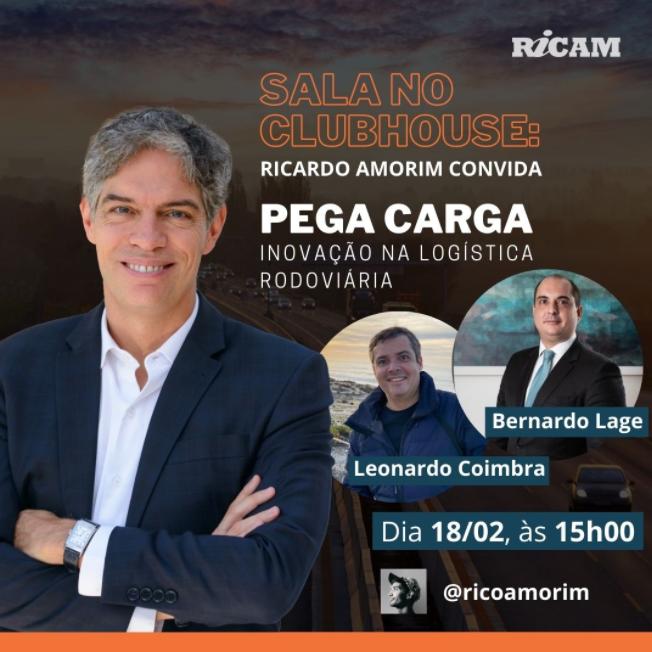 Ricardo Amorim Convida: Leonardo Coimbra e Bernardo Lage, sócios-fundadores do Pega Carga